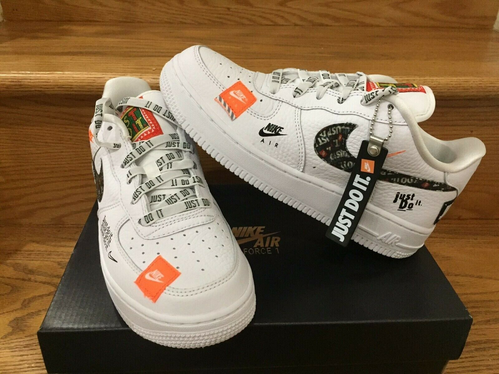 nike air force 1 just do it uomo