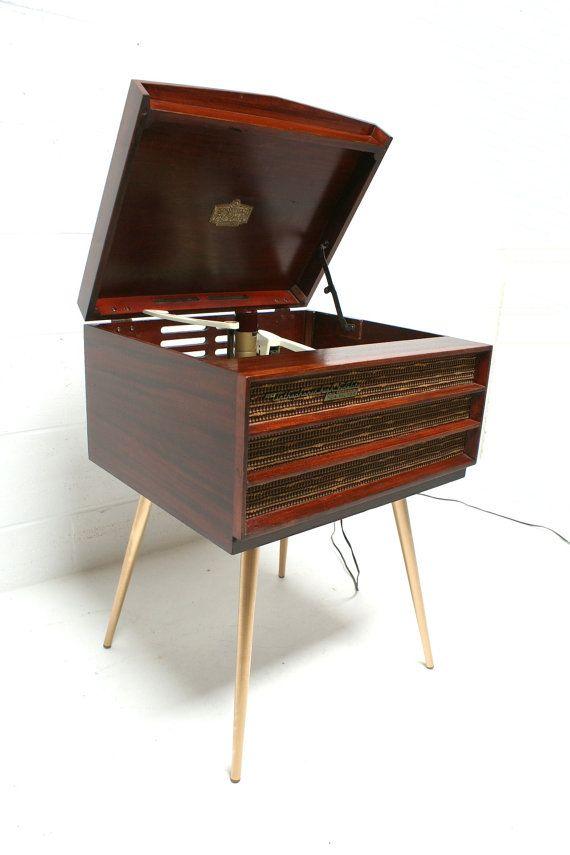 Vintage 50s 60s Mid Century Rca Victor Orthophonic High Fidelity