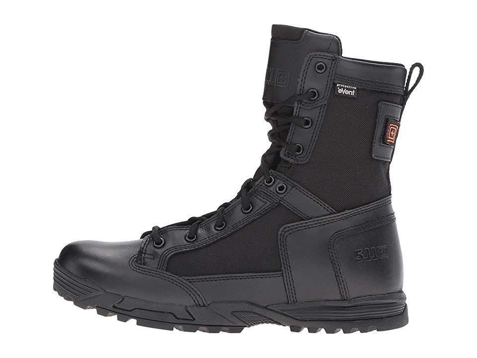 216653ab367 5.11 Tactical Skyweight Waterproof Side Zip Men's Work Boots Black ...