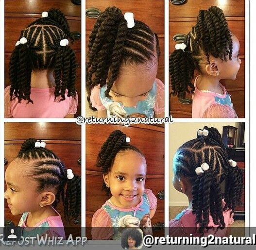 Love Her Hairstyle Little Girl Braids Baby Girl Hairstyles