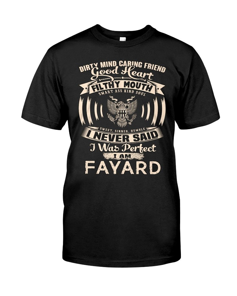 FAYARD Name perfect