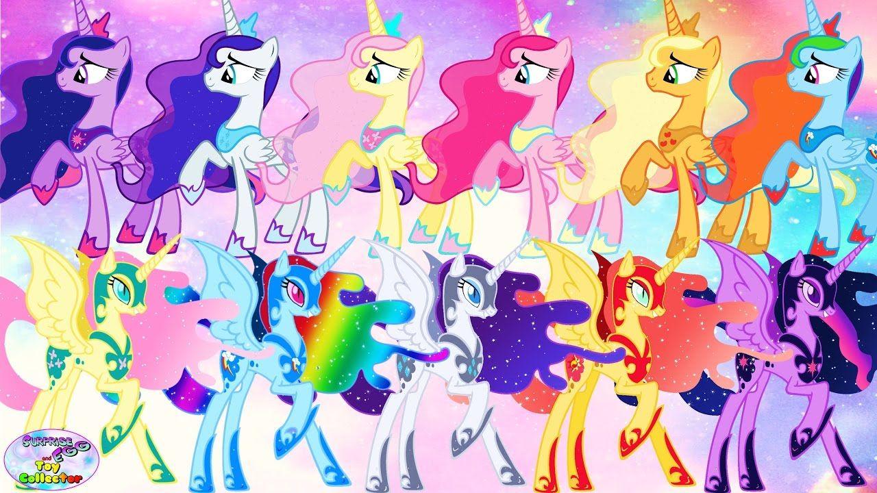My Little Pony Transforms Luna Nightmare Moon Color Swap Alicorn