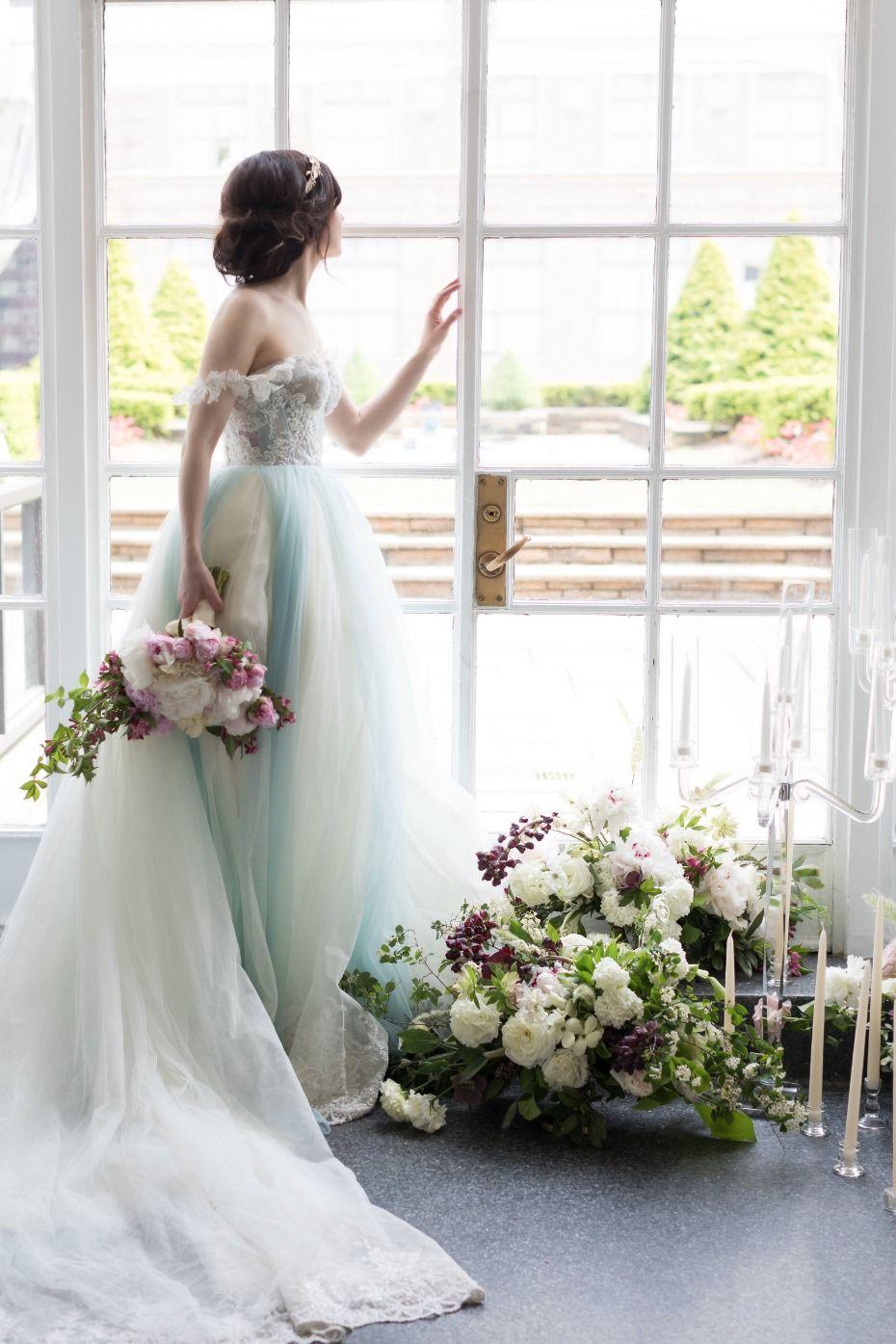 Lena hall wedding dress