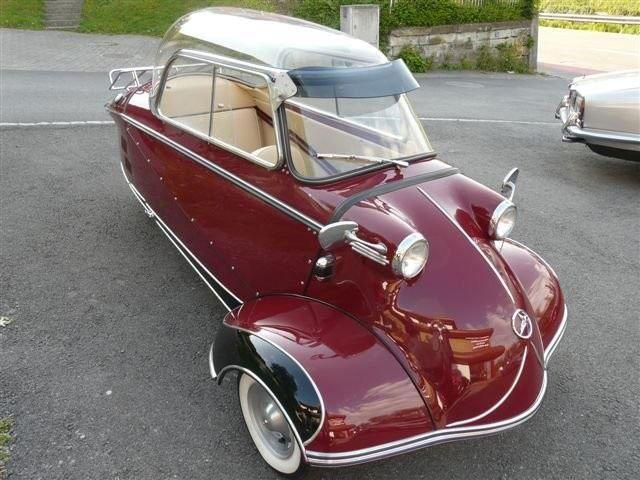 Sold Messerschmitt Kr200 3 Wheeler Microcar Auctions: Three-Wheeled Cars: Messerschmitt