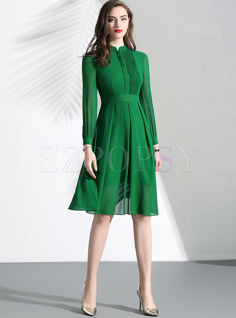 Lace Mock Neck Slim A Line Dress A Line Dress Dresses Royal Clothing [ 1066 x 789 Pixel ]