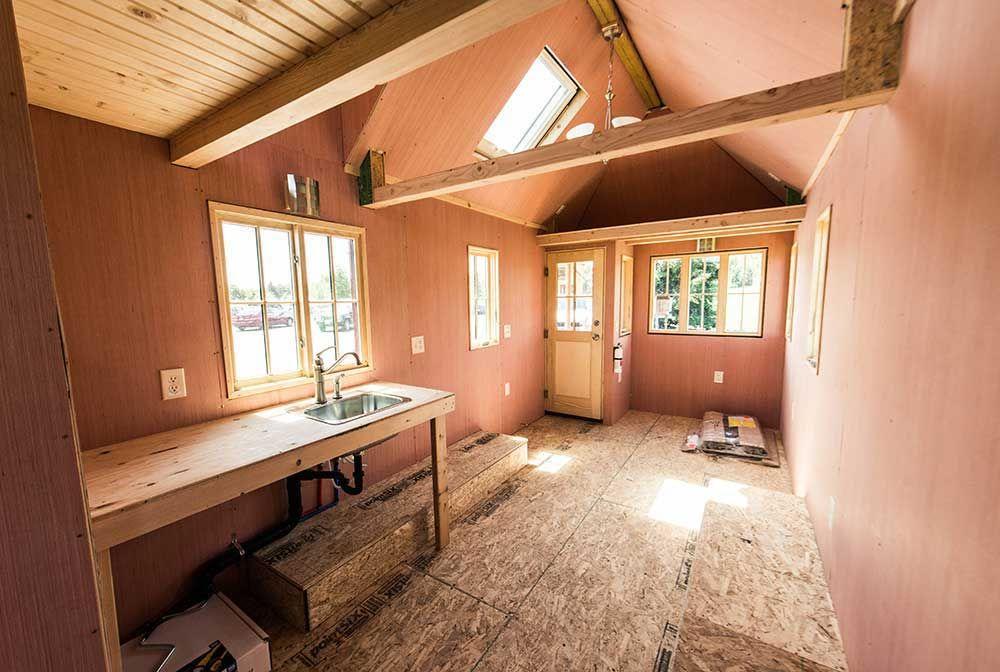 Tiny Home Designs: Tumbleweed Tiny House Shell