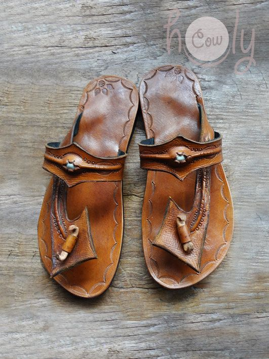 96ad7650a Beautiful Handmade Leather Sandals by HolyCowproducts on Etsy ...