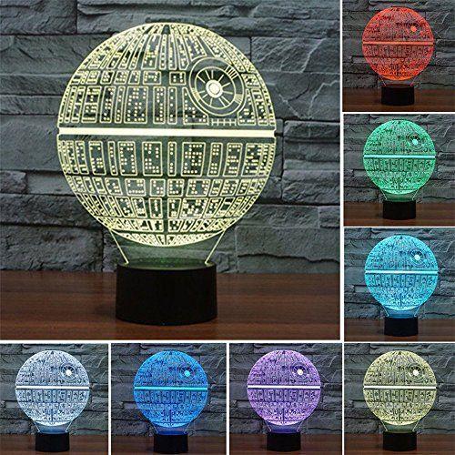 Robot Check 3d Led Night Light Star Wars Night Light 3d Night Light
