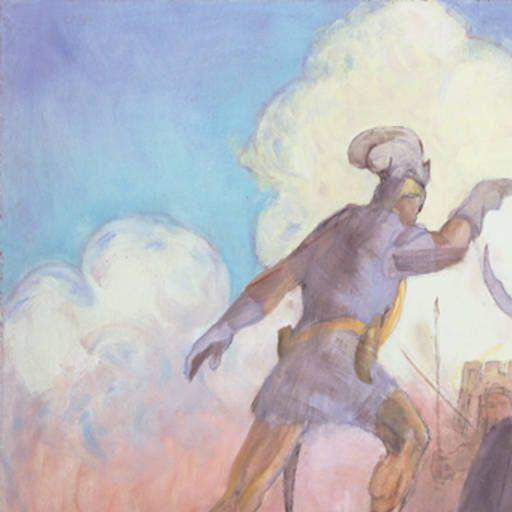 Alma Overcomes Amlici :: Museum of Art