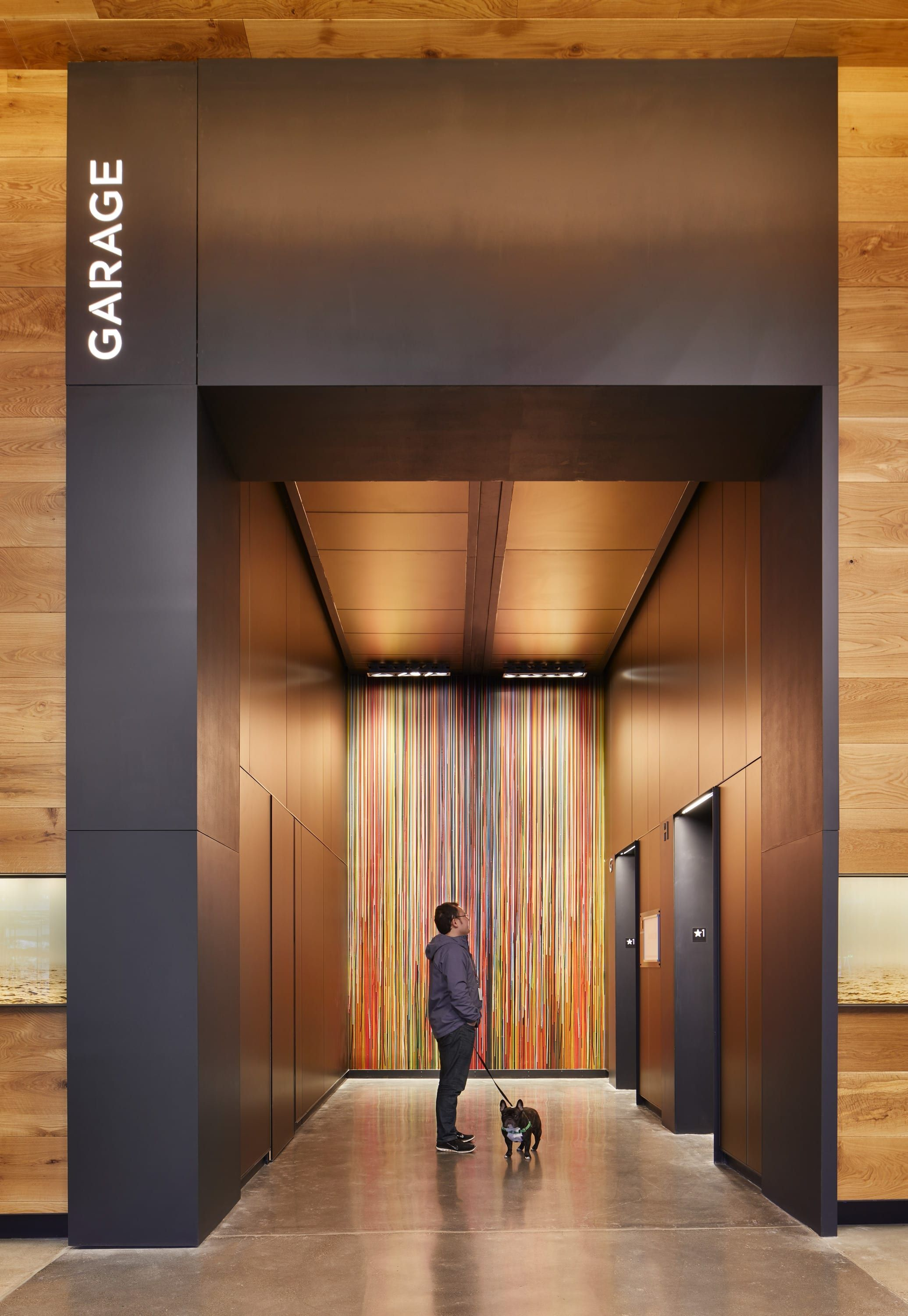 Touchstone Corporation Tilt 49 Mixed Use Project Seattle Wa Lobby Interior Design Elevator Lobby Design Lobby Design
