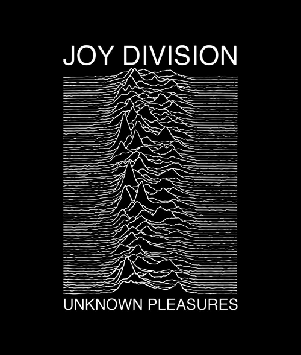 521e09fc8 Joy Division Unknown Pleasures T Shirt Price  15.89   FREE Shipping   bandtshirt