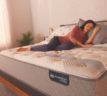 The Serta® Hybrid is the only mattress that