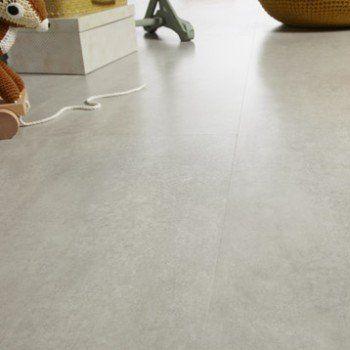 Dalle stratifiée effet béton gris clair, Ep8 mm, Novofloor Leroy