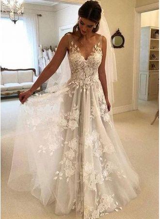 elegant brautkleider weiße günstig spitze hochzeitskleider online shopalinie brautkleider