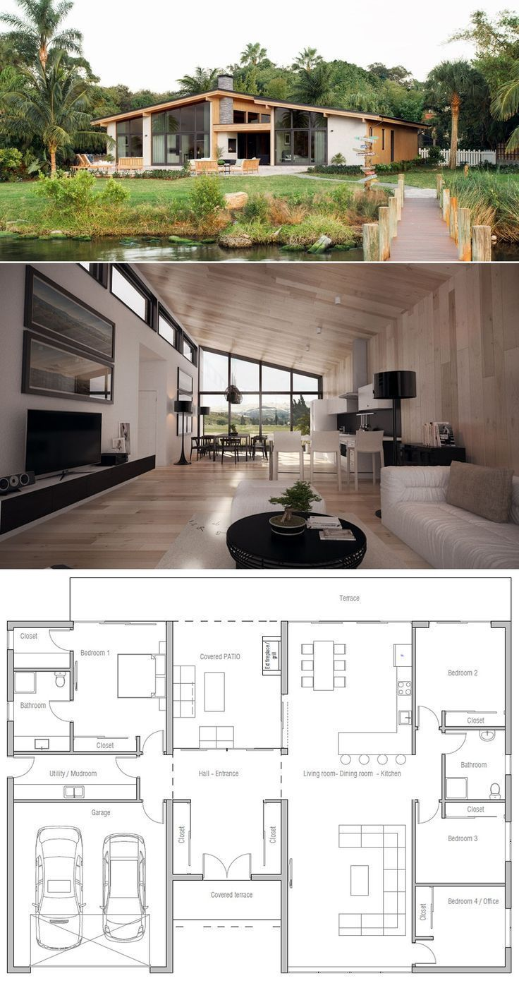 House Plan – #House #plan – Holly - Harry #modernfarmhousestyle
