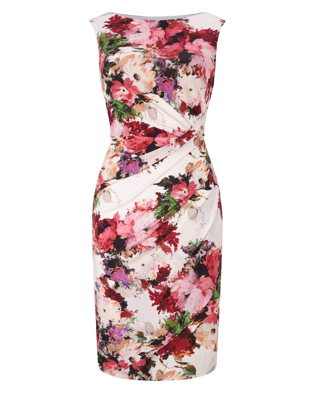 Phase Eight Elisa Floral Dress Multi