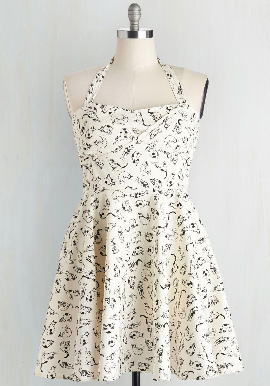Mini White Cupcake Dress