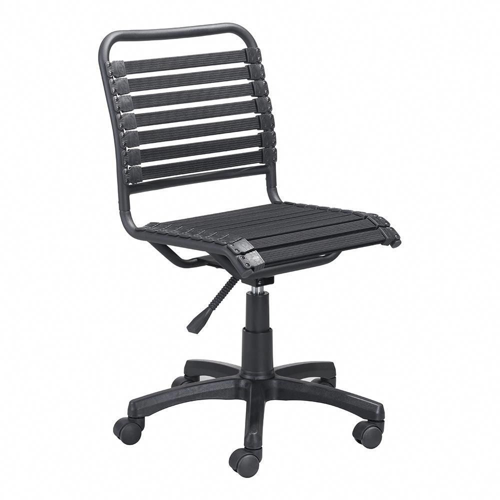 Modern Stretchie Office Chair Features A Black Bungee