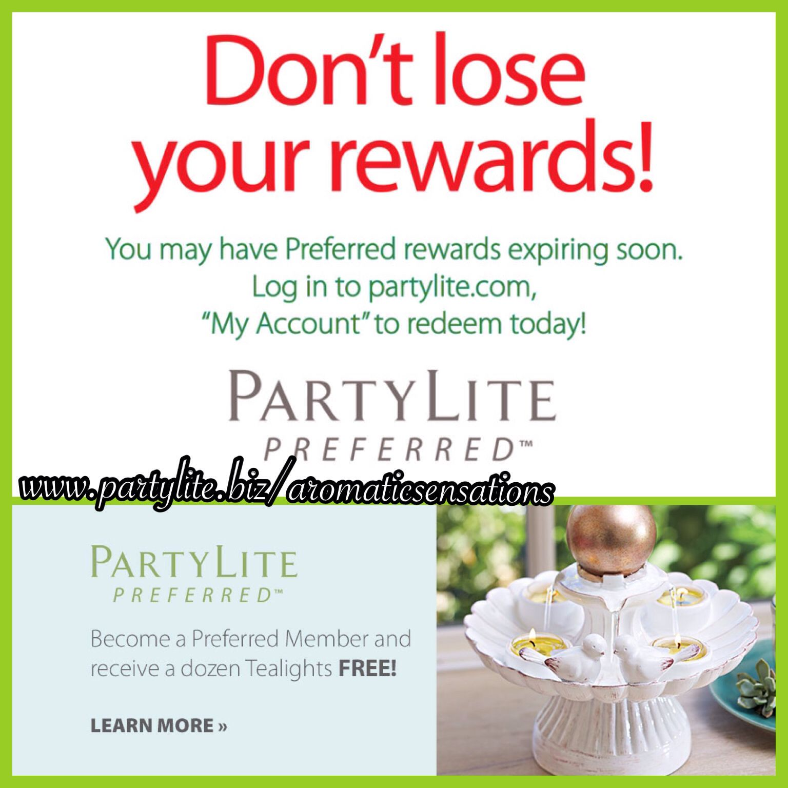Preferred Members Get A Reminder Every Month To Redeem Their Rewards