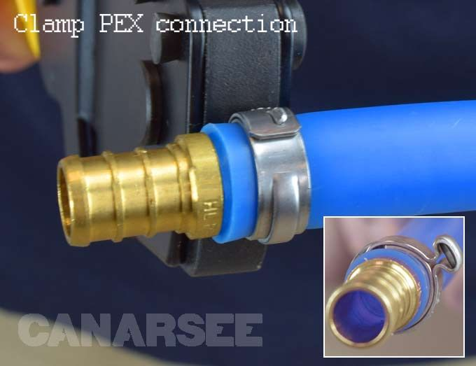 Types Of Pex Tubing Connections Cross Linked Polyethylene