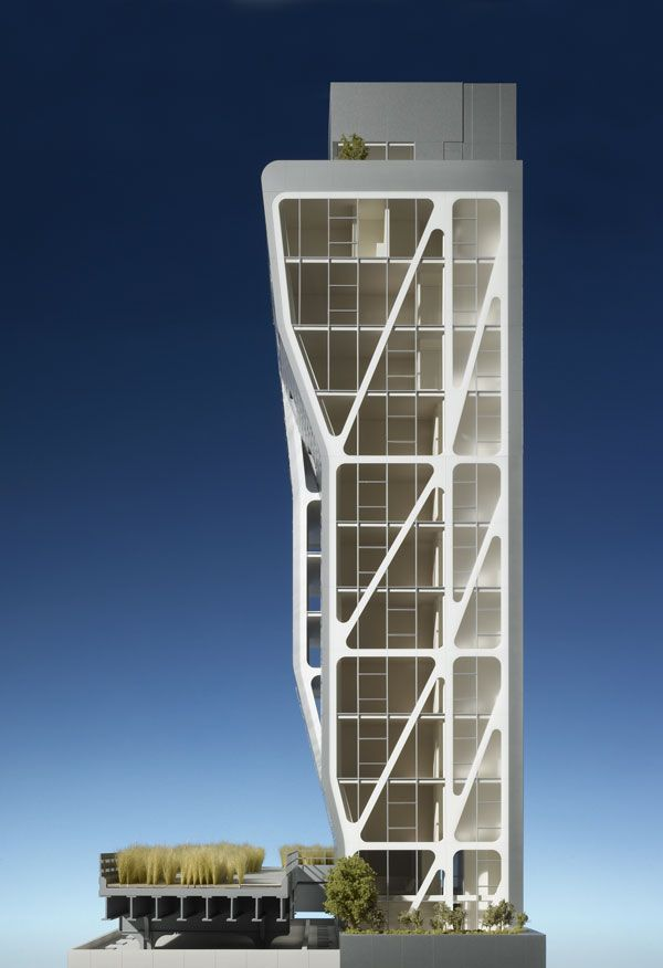 Model : HL23 Project : New York High Line, NYC | Neil Denari Architects