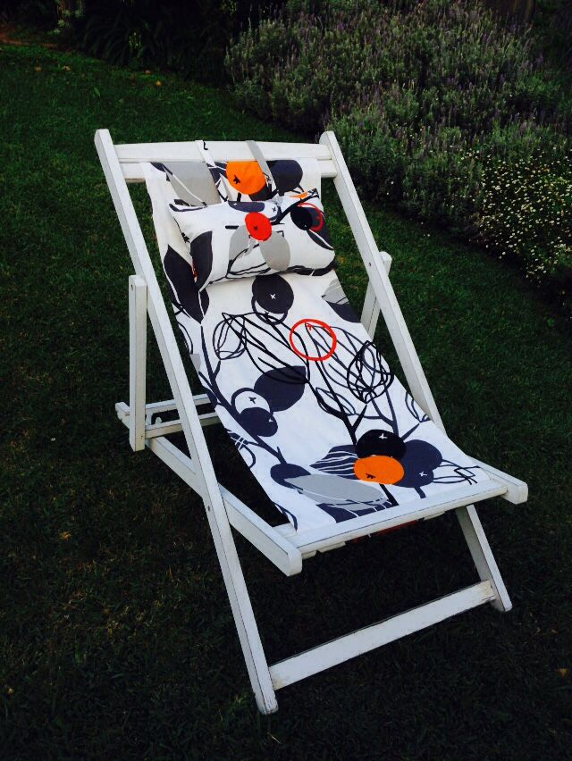 DIY Deck Chair Cover