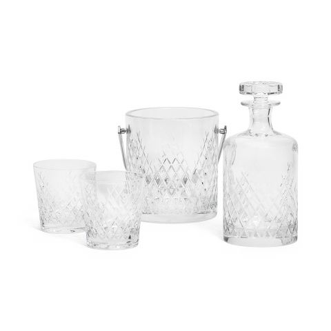 Barwell Cut Crystal Deluxe Whisky Set | Drinkypoos? | Pinterest