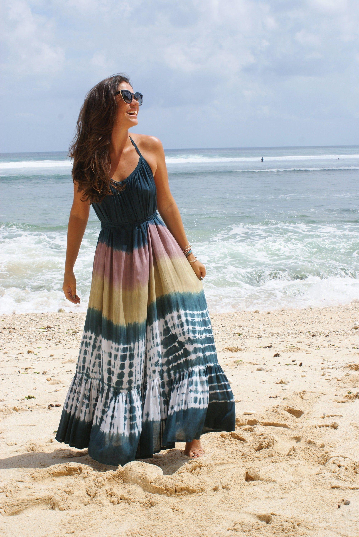 Pin On Tie Dye Dresses Maxi Dress Beach Wear [ 3000 x 2008 Pixel ]