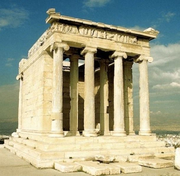 The Temple of Athena N...
