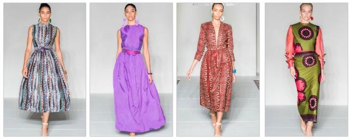 Arkansas Fashion School Student Freddie Reynolds Showed An African Themed Collection At 2018 New York Fas In 2020 Fashion Fashion Designer Salary New York Fashion Week
