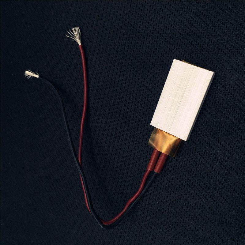 2 개 가열 요소 헤어 드라이어 액세서리 경기자 히터 80-220 섭씨 Ptc 히터 12 볼트 적용 소형 가열