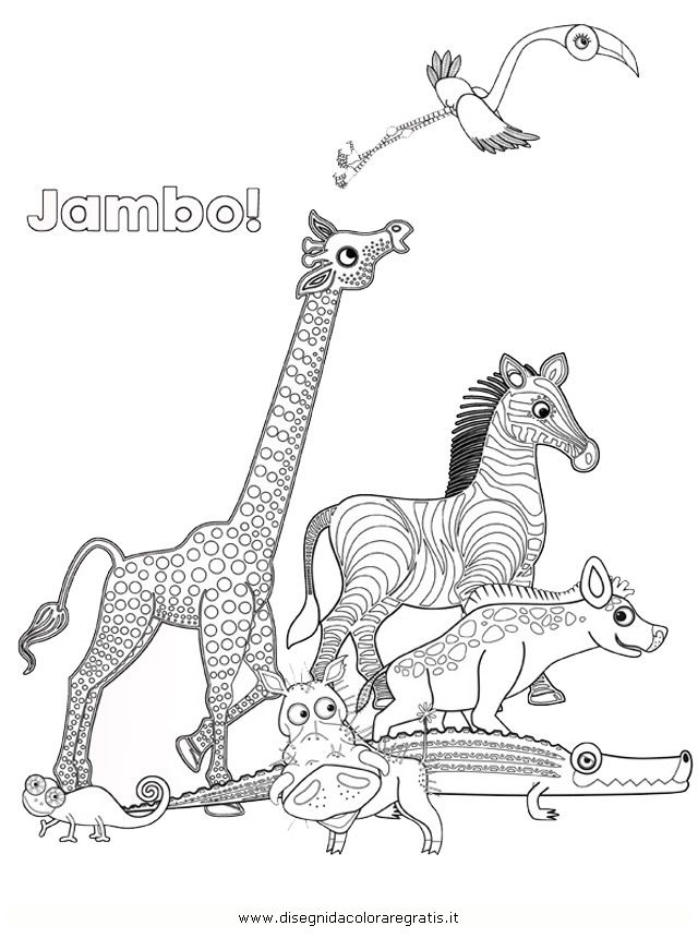 Tinga Tales Coloring Pages