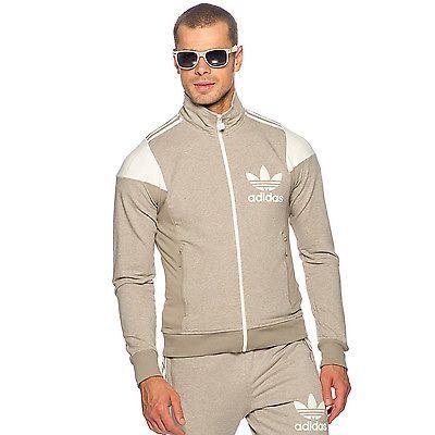 5233c9888634b Adidas Originals para Hombre Retro 3 Rayas Track de Superdry chandal  chaqueta Calce Ajustado Gris XS