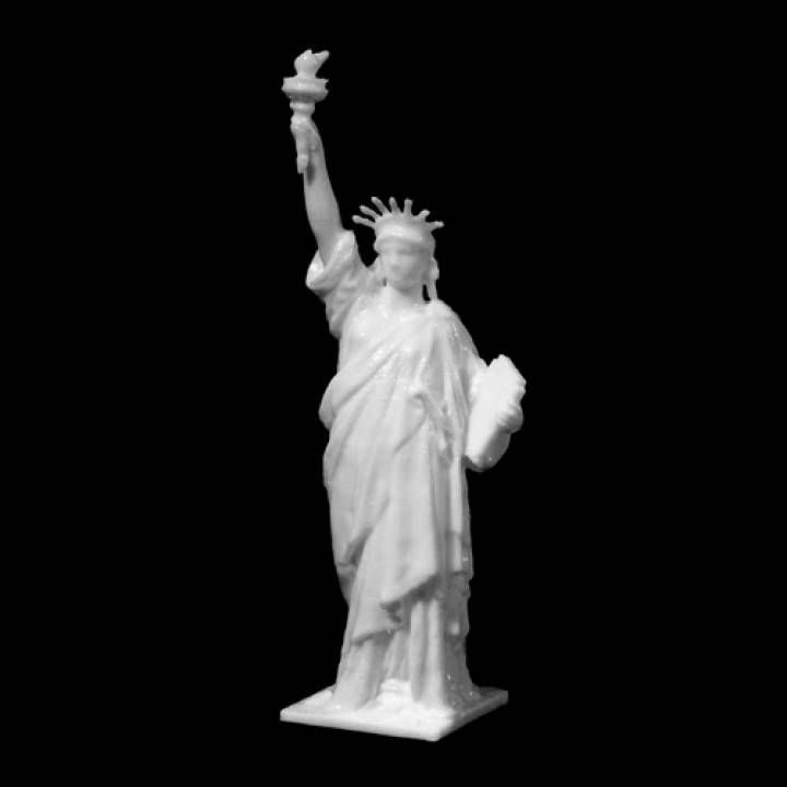 Statue of Liberty maquette image | 3d models for print