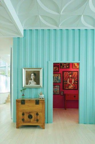 La déco en bleu turquoise Turquoise, Shabby chic interiors and