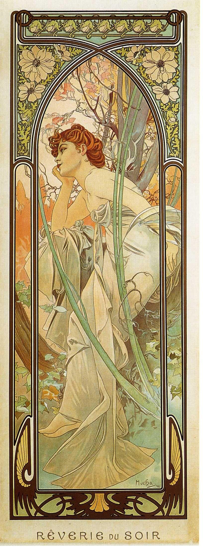 Время суток. Вечерняя задумчивость-1899