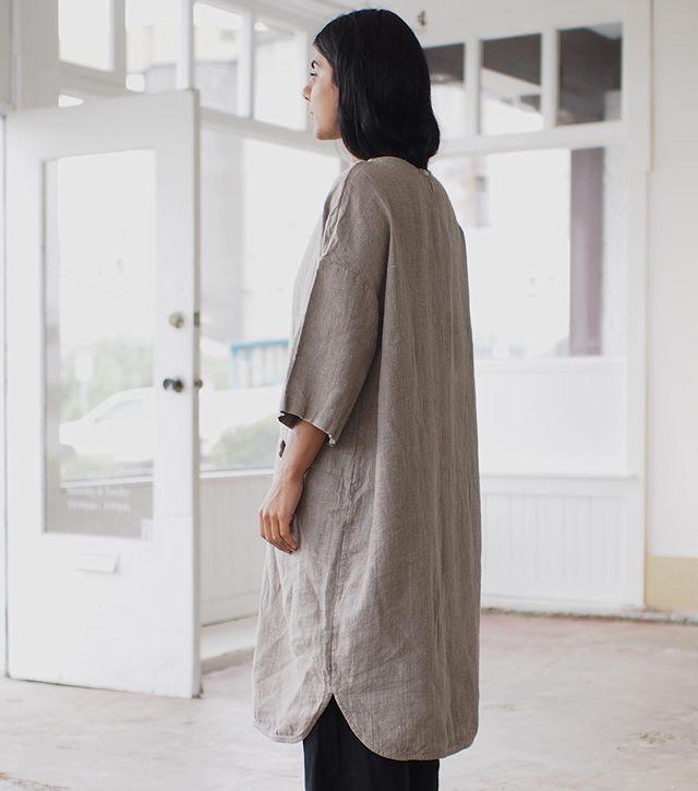 beaton linen (canada) utility dress Style, Normcore