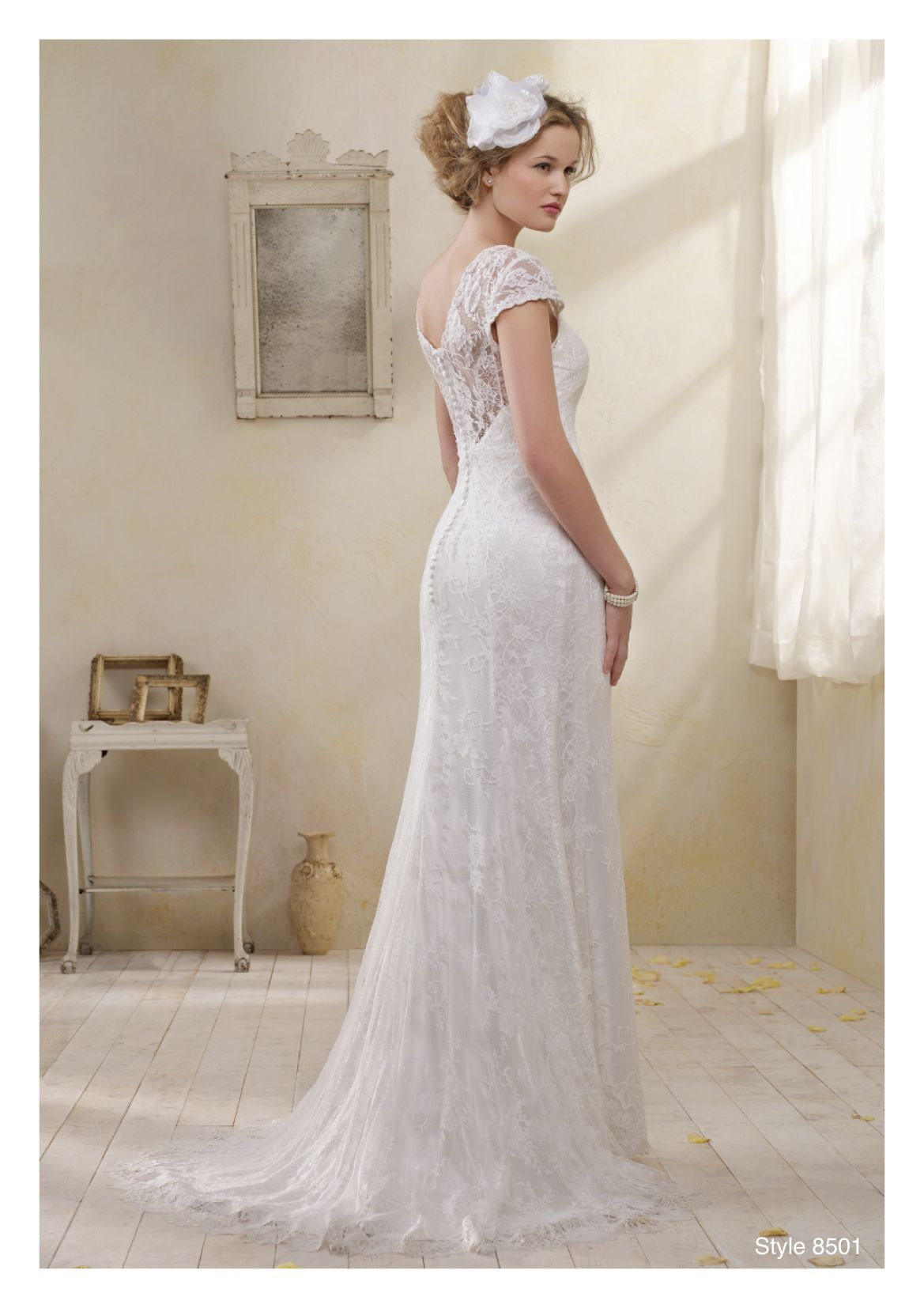 Bias cut satin wedding dress with lace over vintage wedding bias cut satin wedding dress with lace over ombrellifo Choice Image