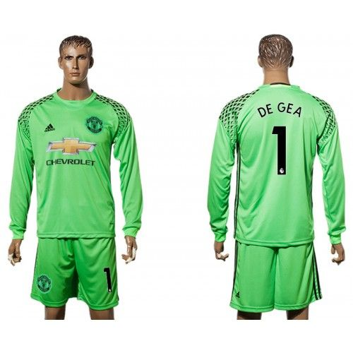reputable site ee8b1 9b935 switzerland manchester united 1 de gea blue goalkeeper ...