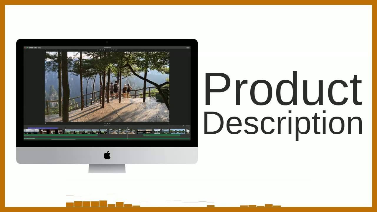 Apple iMovie for Mac Product description, Software