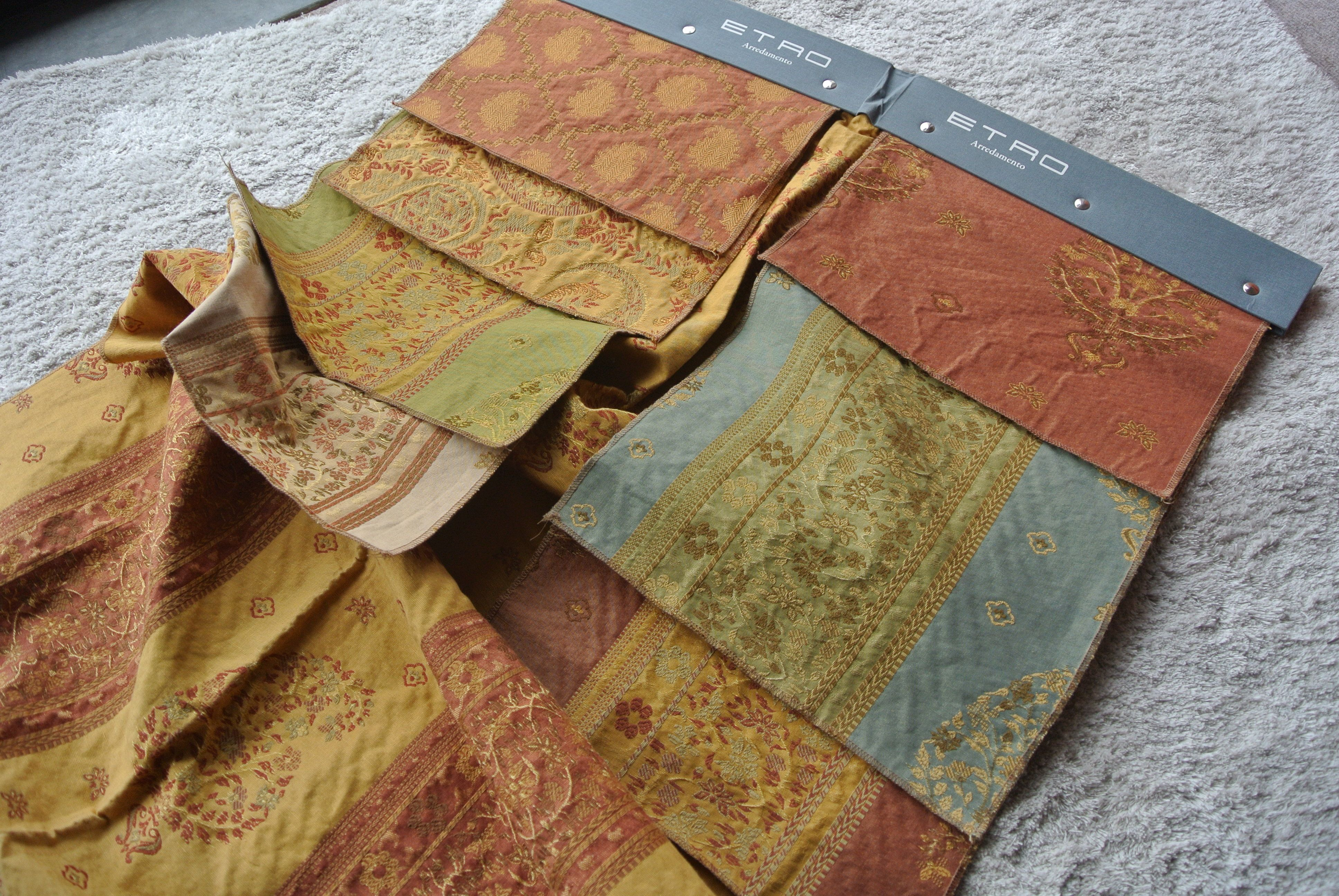 Etro arredamento ~ Tirella di campione tessuti etro arredamento divano da