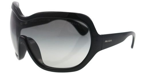 dcf24e048e Almost a goggle! The Prada SPR 05C shield is awesome for skiing on ...