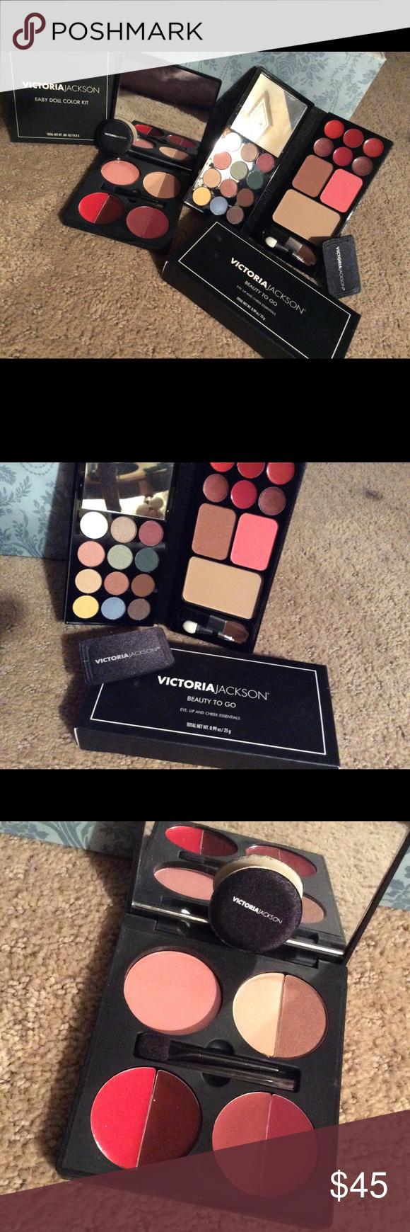 Two Brand New Luxurious Makeup Kits NWT Makeup kit