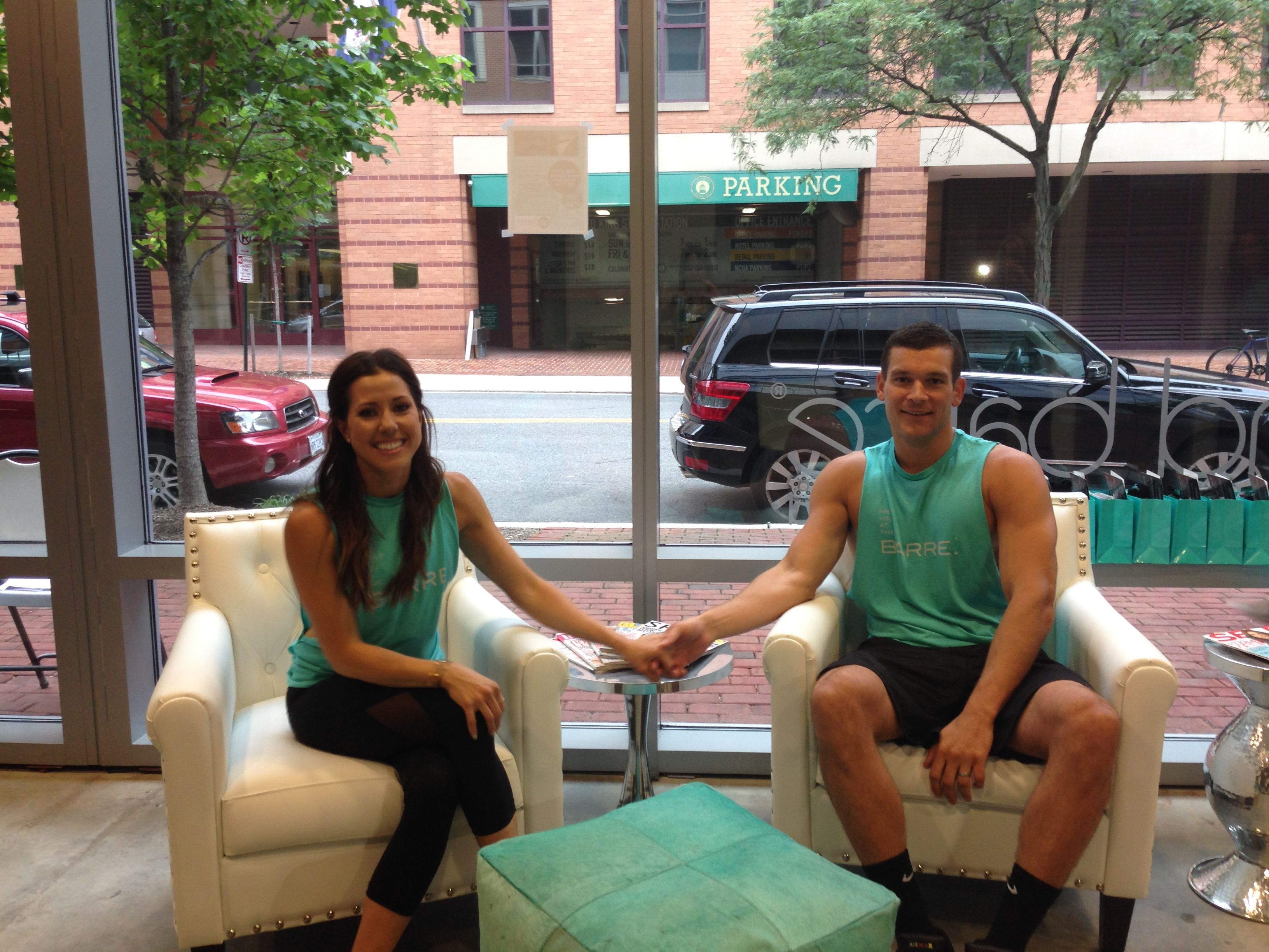 Studio Owners Natalie And Bryce Strahorn Xtend Barre Old Town