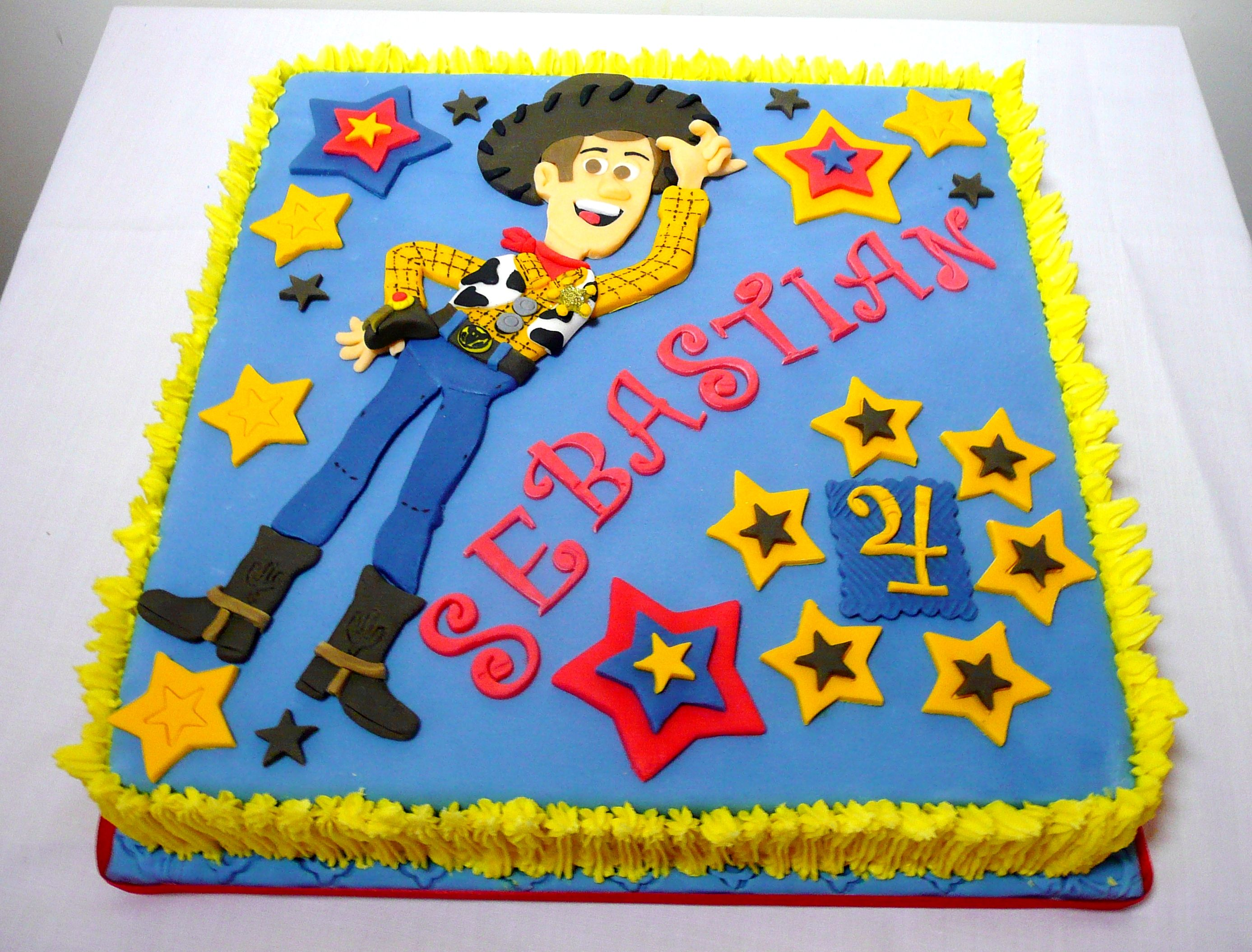 Woody Toy Story Cake By Fia Sweet Ideas Party Ideas