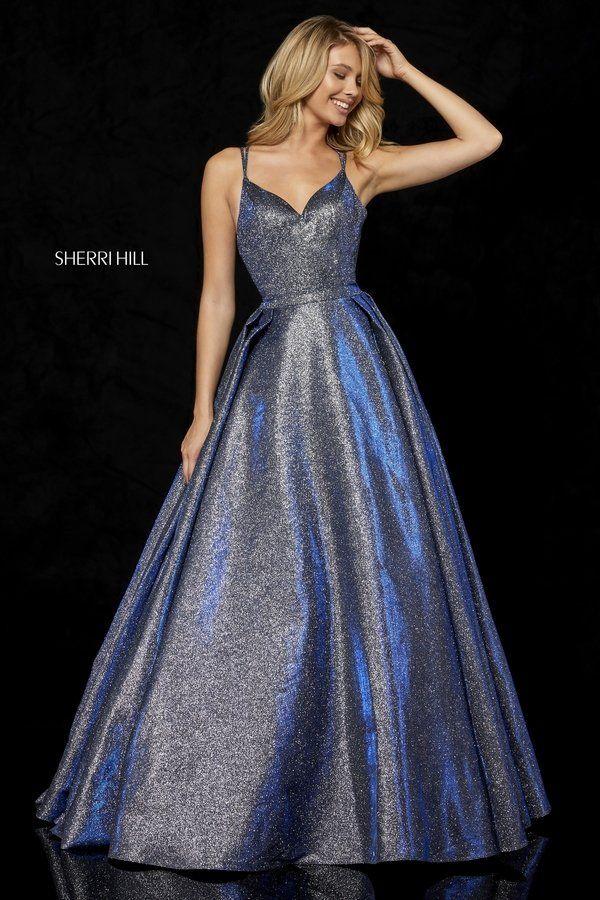 1b35d334e0a Sherri Hill Style 52364  RoseGold Size 8