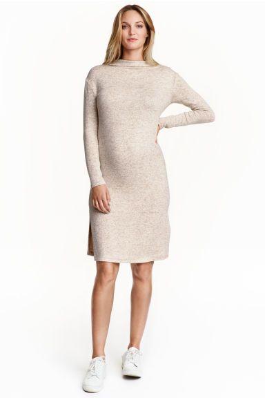 9b8acafacd3 MAMA Fine-knit dress