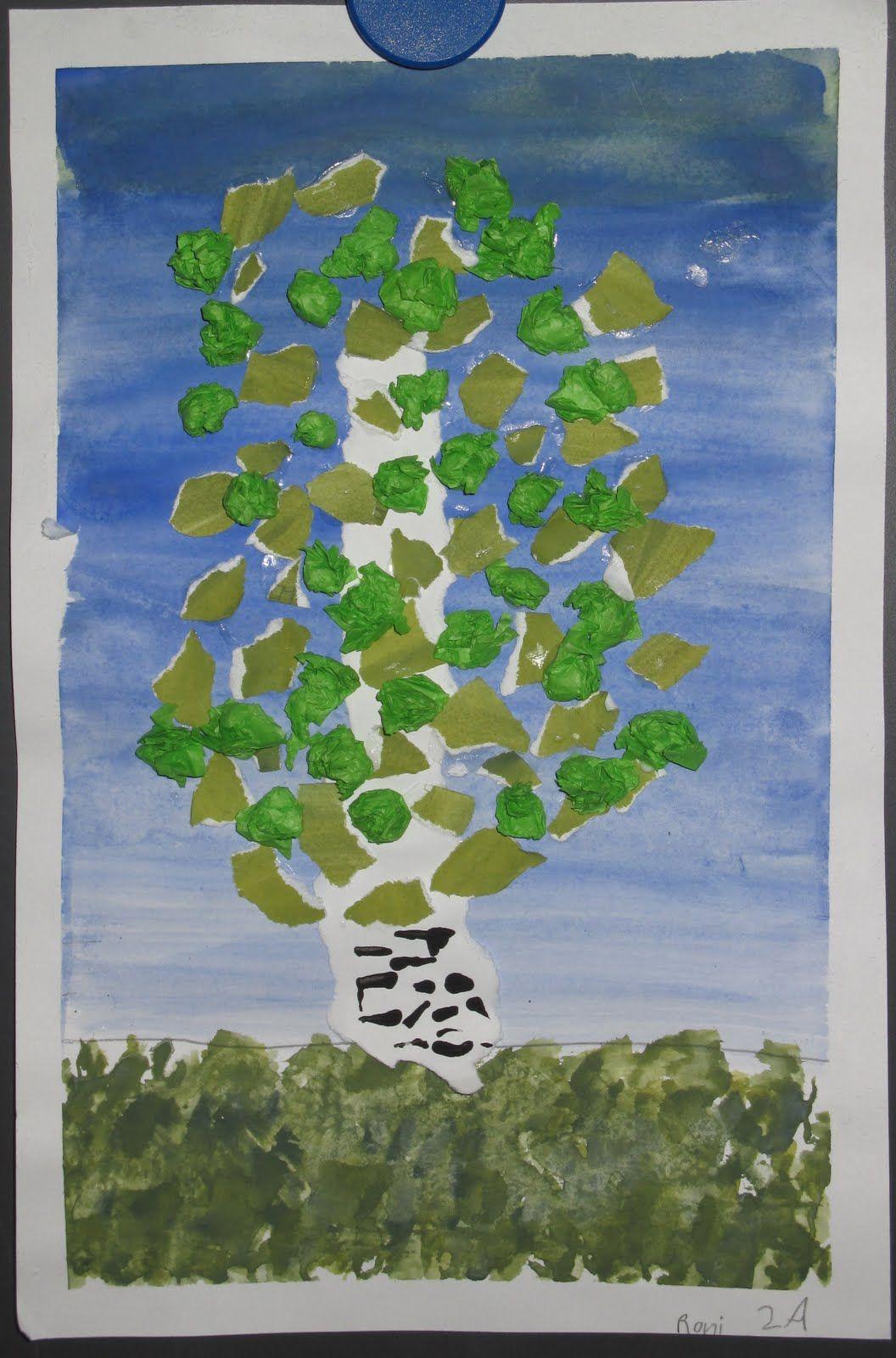 Sari-opettaja oli loihtinut luokkaansa koivumetsätunnelmaa... (opettaja Sari Kulmala ja 2A, 2010)    Värikkäät perhoset (nokkos-, neito-, ...