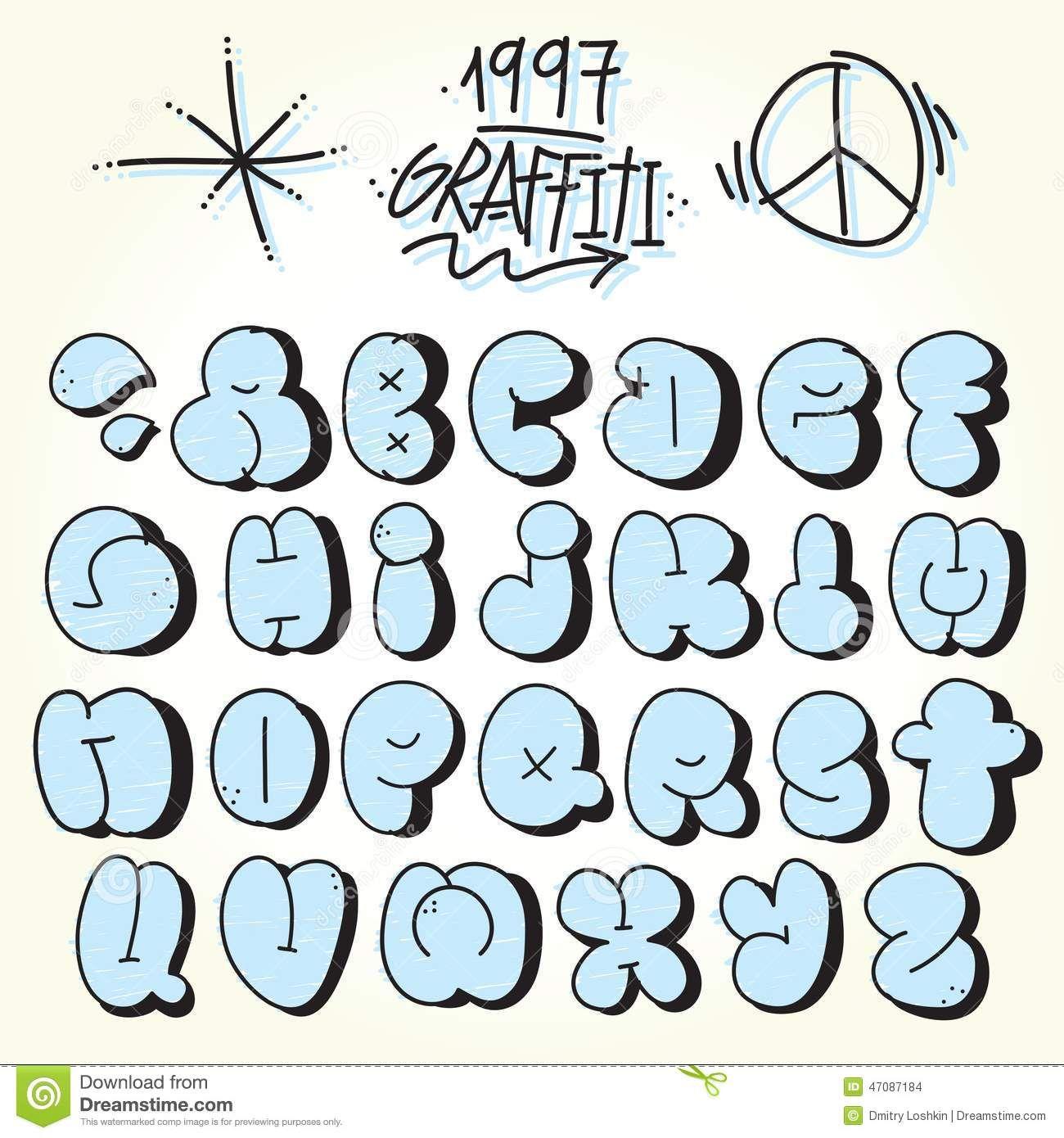 Bubble Typography