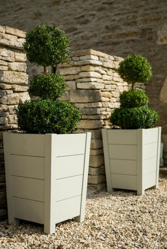 ▷ 1001 + Ideas de decoración de jardín con maceteros grandes in - maceteros para jardin